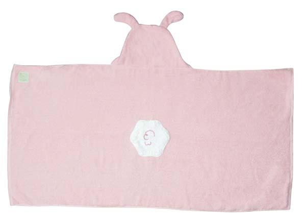 Bunny Hooded Towel-