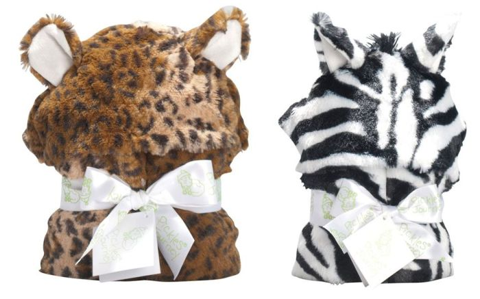 Animal Hooded Blankets-