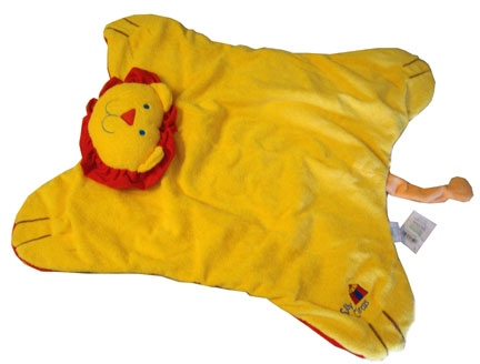 Lion Blanket-Silly Circus, embroidered blanket, baby gift