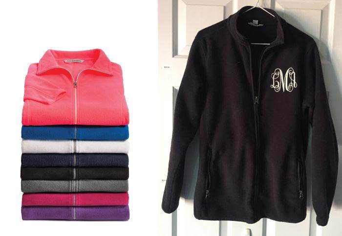 Ladies Full Zip Microfleece Jacket-