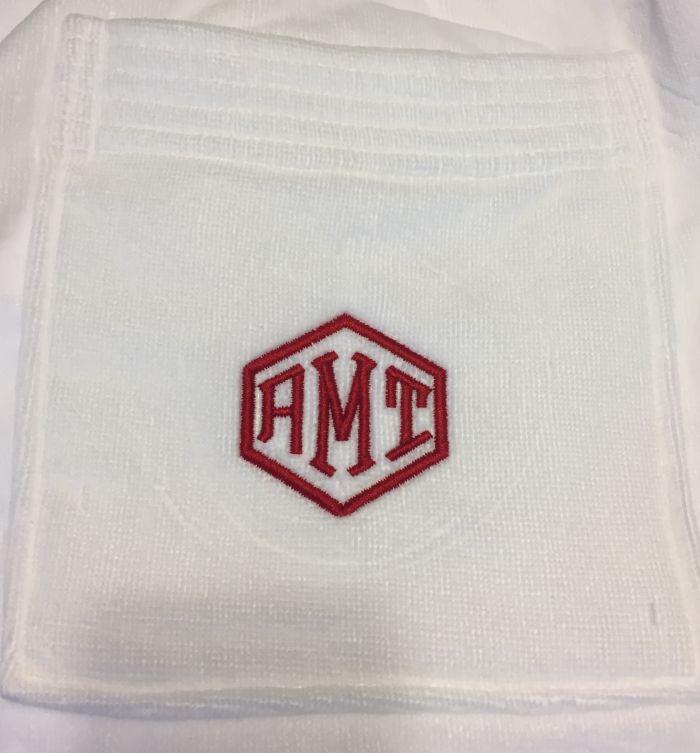Men's Terry Velour Towel Wrap-