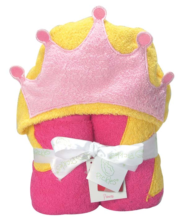 Princess Hooded Towel-