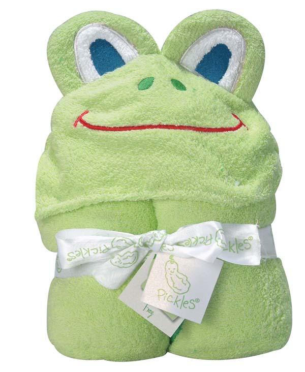 Frog Hooded Towel-
