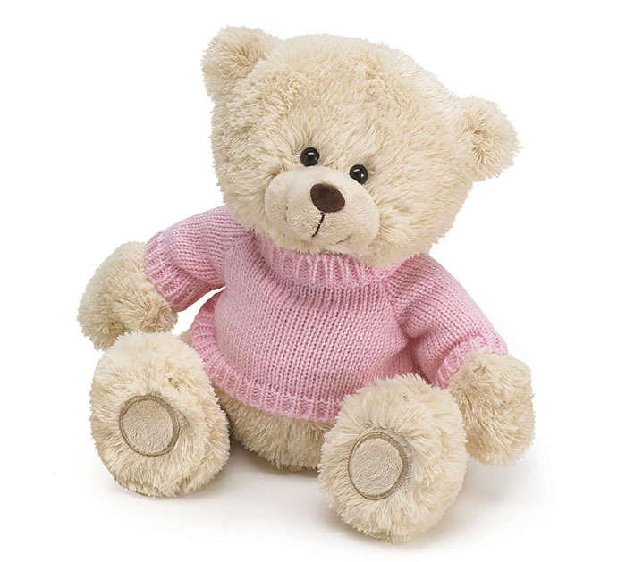 Sweater Bear-Pink-