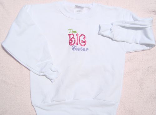The Big Sister Sweatshirt-