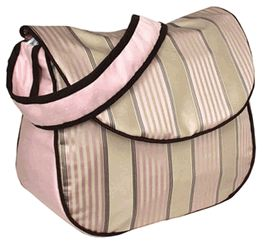 Hoohobbers Bella Pink Messenger Bag-Hoohobbers bella pink messenger bag