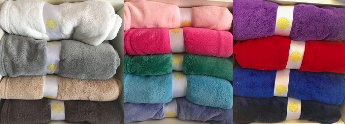 Bright Color Fleece Blanket