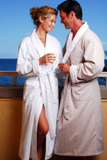 Microfiber Shawl Collar Robe-