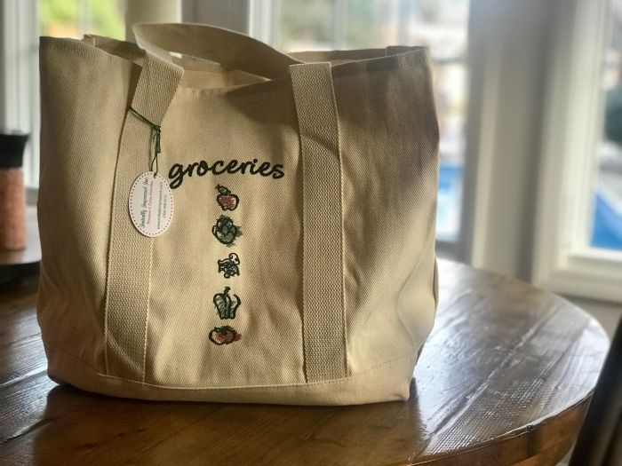 Canvas Grocery Tote-