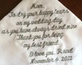 Hemstitch Linen Handkerchief
