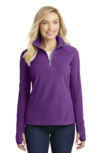 Microfleece 1/2 Zip Pullover-LADIES