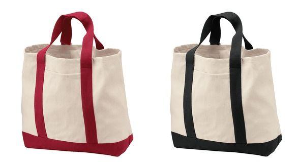 Rakki-Inu Akita Rescue Logo 2-Tone Tote Bag-