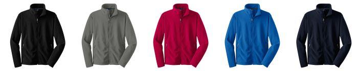 Heavy Weight Full Zip Fleece- UNISEX-